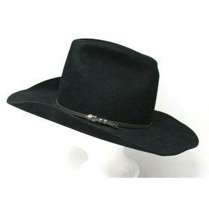 John B. Stetson 4X Beaver Cowboy Hat Size 6 7/8